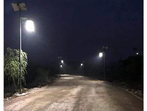 金三普承接了寿阳神伍村《中式威廉希尔公司app路灯》的安装项目