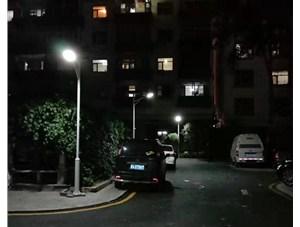 金三普给太原市金刚里小区安装了4米威廉希尔公司app路灯