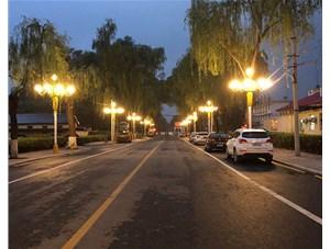 太原江阳小区中华灯是由山西金三普承接施工完成的