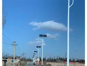 晋源区古城营村路灯由山西金三普承接施工安装。